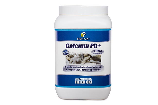 CALCIUM PH+, Materiali Filtranti per Acquario