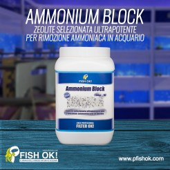 AMMONIUM BLOCK, Materiali Fltranti per Acquario